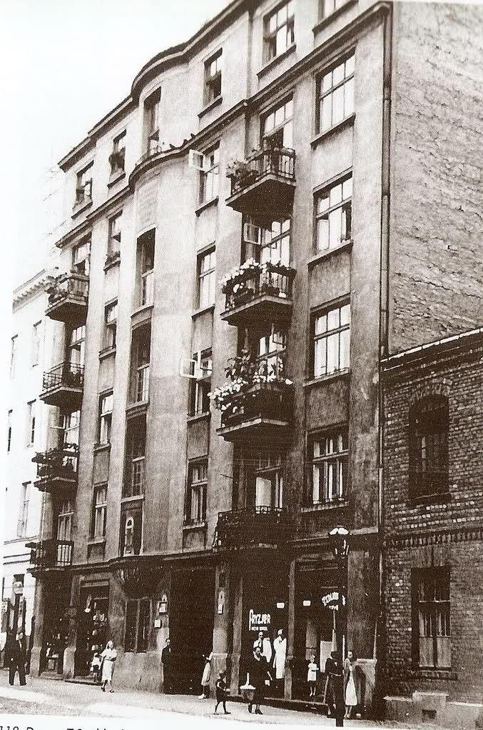 Warszawa międzywojenna - Hrubieszowska 7