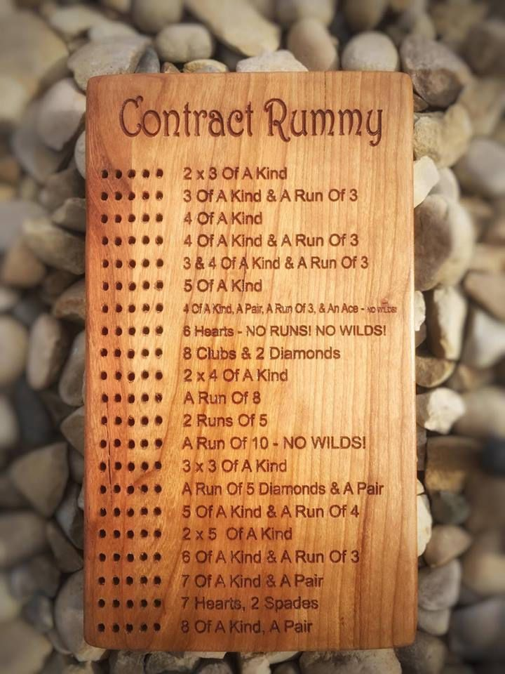 Contract Rummy by LasersEdgeDesignRD on Etsy