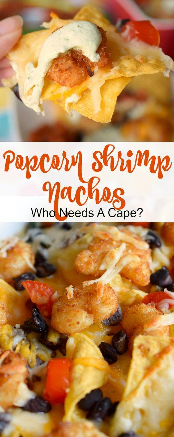Can't decide on what favorite item to make for dinner? Mix it up & combine 2 favorites into Popcorn Shrimp Nachos, it'll be a new family favorite. #ad @seapak