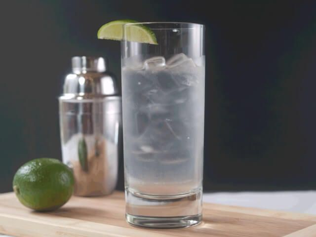 A traditional gimlet is made with gin, but this version is made with vodka, lime juice, and simple syrup. | CDKitchen.com