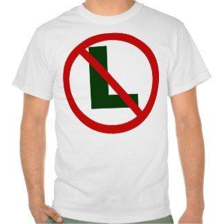 no L T-shirts