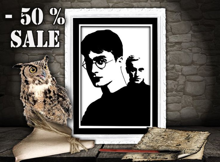 Harry Potter inspired wall art, kids wall art, Harry Potter, Hogwarts