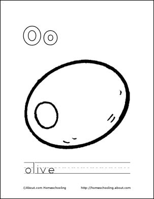 17 Best images about LETTER O on