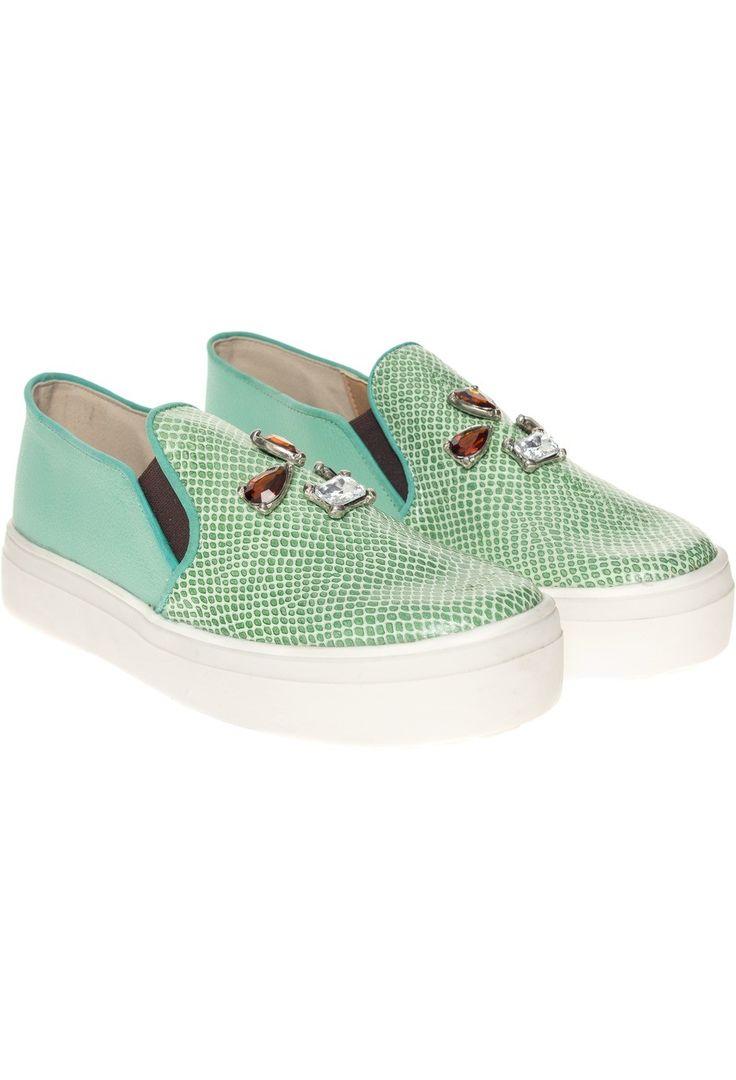 Corre Lola - Panchas Crocs verde