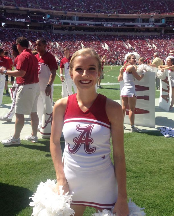 Former CHS Cheer Captain Camille Marsh Makes Crimson Tide Squad-  Former Cullman High School Cheer Captain – Camille Marsh – has been honored by making the Alabama Crimson Tide Co-ed Cheer Squad as a true freshman.  Making the squad was a major challenge for Camille: 100 young women tried out for only 10 available roster spots. Camille made it!  By any measure, this is an impressive start to Camille's collegiate career. Congratulations!