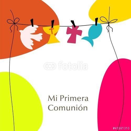 Vector: MI PRIMERA COMUNION