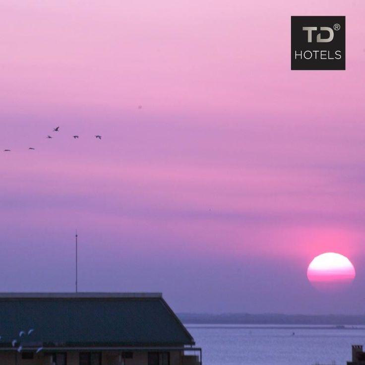 Por do sol em Moçambique