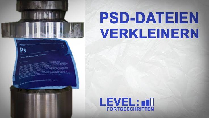 PSD-Dateien werden gerne riesengroß, 1 GB oder mehr sind keine Seltenheit. Heute…
