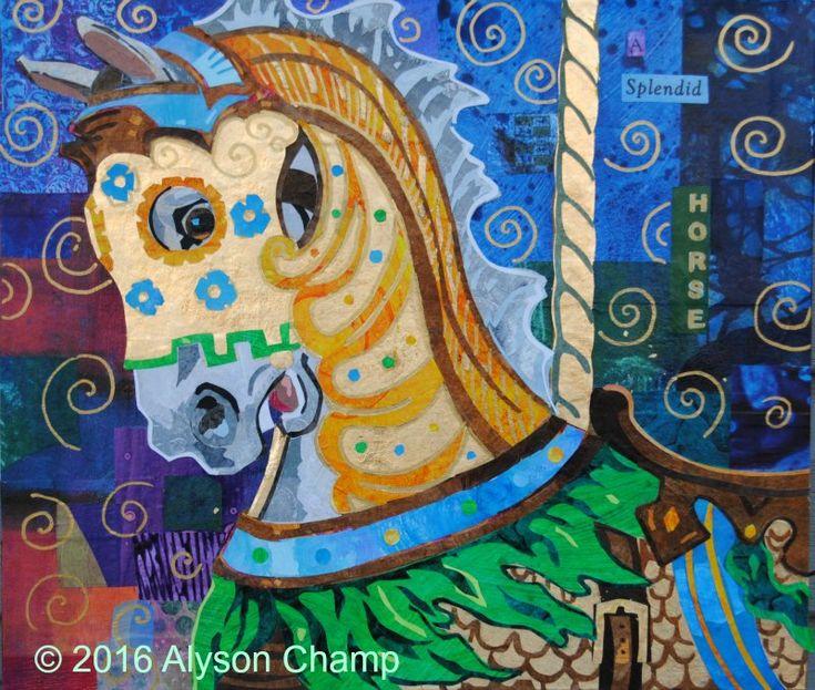 Carousel Horse 3: A Splendid Horse