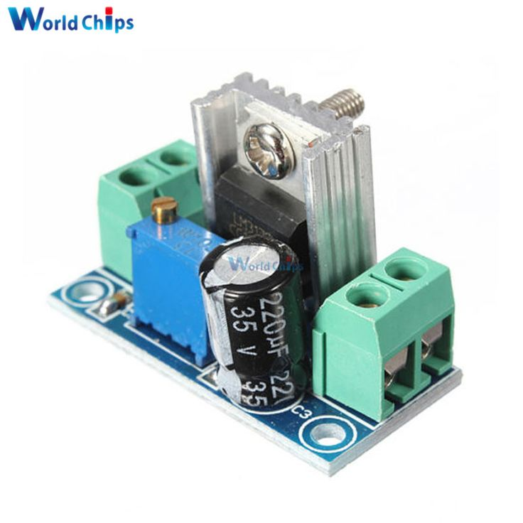 Free Shipping LM317 DC-DC 4.2-40V To 1.2-37V Step Down Buck Converter Board Module Adjustable Voltage Linear Regulator //Price: $0.60//     #gadgets