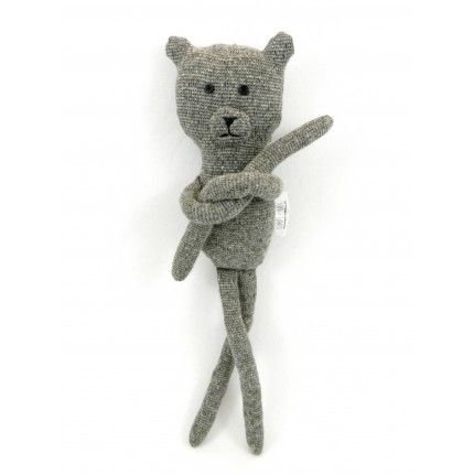 Melange Teddy Macabre-ddy by Simply Made #teddy #handmade #gift €25,40