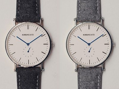 DAPPERED: Most Wanted Affordable Style - Rossling Y Co. Blue Hand Watches on Dappered.com