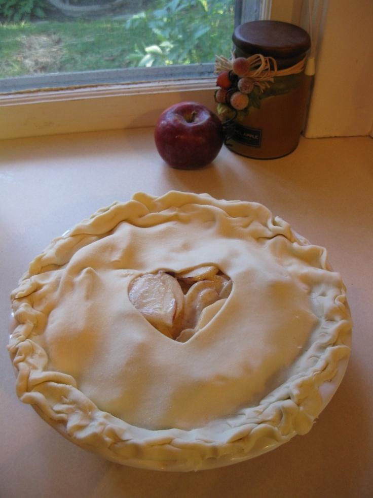 Sour Cream Apple Pie.