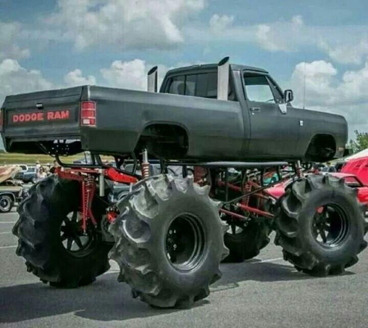 Dodge Diesel Trucks >> Dodge Ram mud truck   Gen 1 dodge ram   Pinterest   Dodge rams, Discount wheels and Dodge trucks