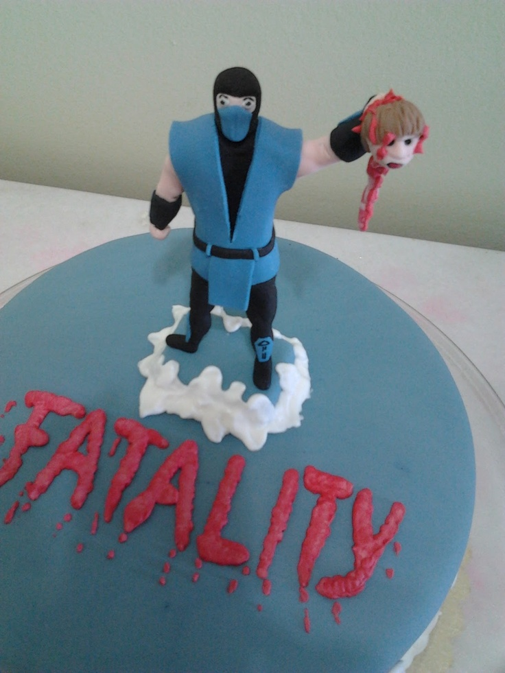 17 Best Images About Mortal Kombat Cake On Pinterest The