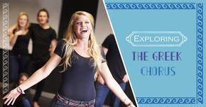 Here's an exercise to try in the drama classroom which will help students to understand and explore the Greek chorus.