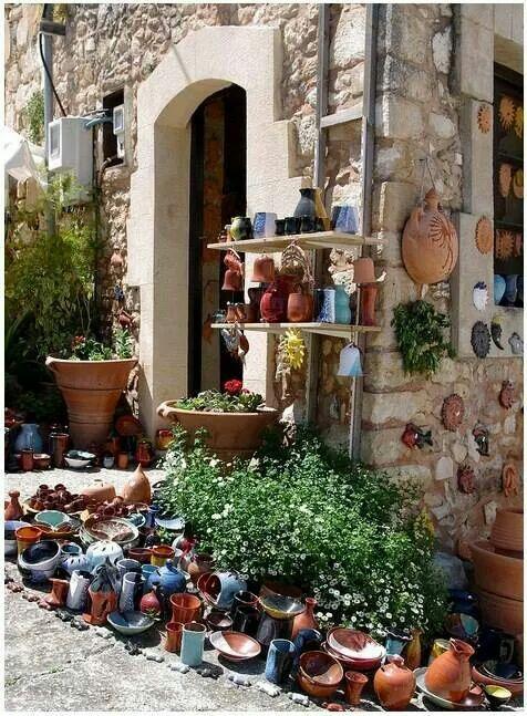 Pottery village... Crete island