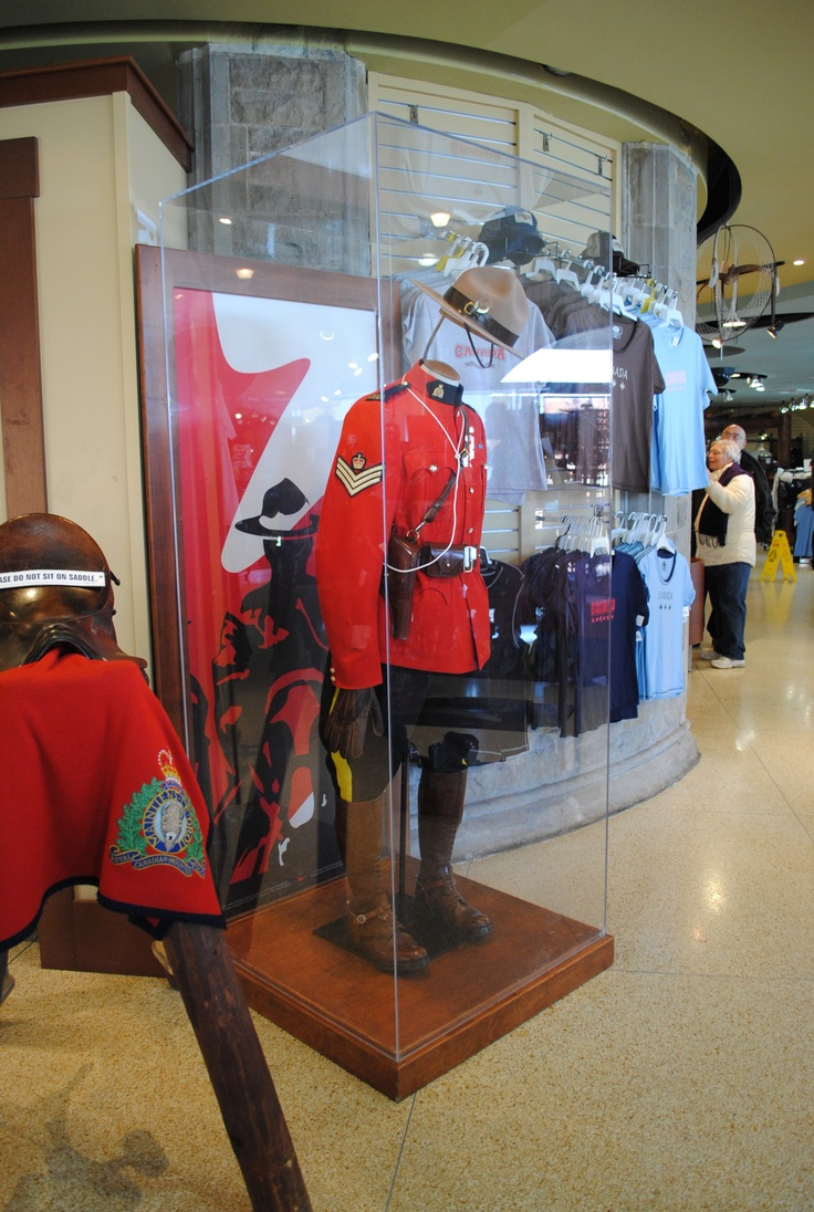 Mountie Uniform.