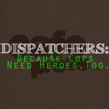 Dispatcher Dark T-Shirt. In fricken deed