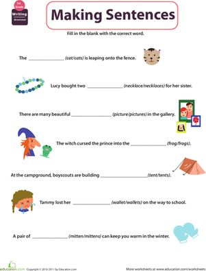 Printables First Grade Grammar Worksheets 1000 images about summer school on pinterest first grade writing sentences grammar worksheets get into select the subject
