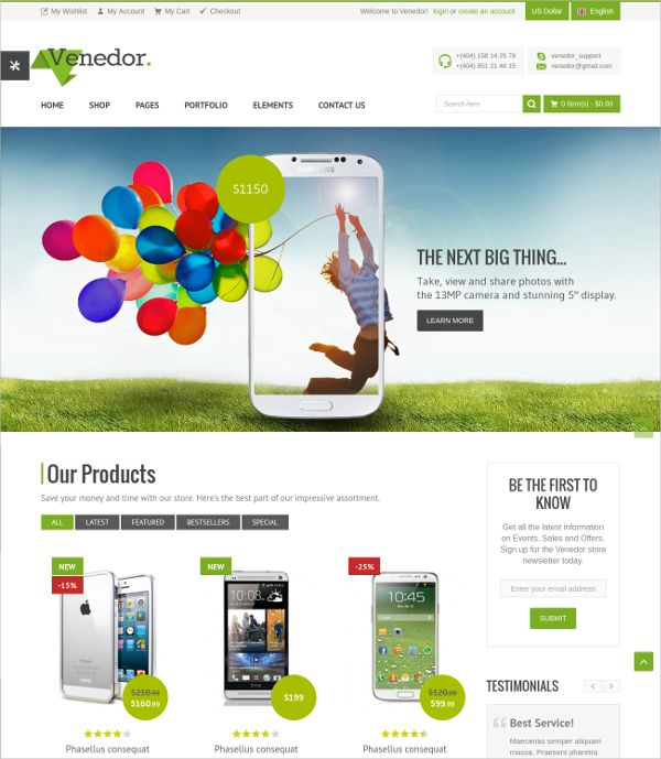 Free Premium Templates Ecommerce Template Free Website Templates Templates