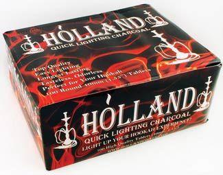 Holland 40mm Charcoal (10 rolls of 10 discs)