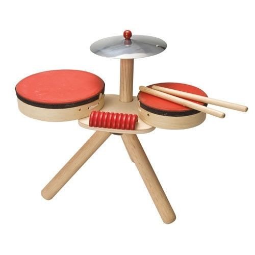 Drewniana perkusja, Plan Toys  #dladzieci #instrumenty #zabawkidladzieci #jakzesnu
