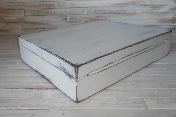 Silverware Storage Box  Flatware Storage Box  by AtticJoys1