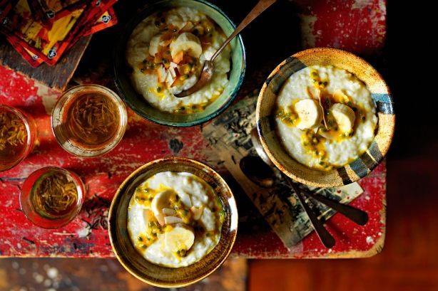 Coconut rice pudding main image