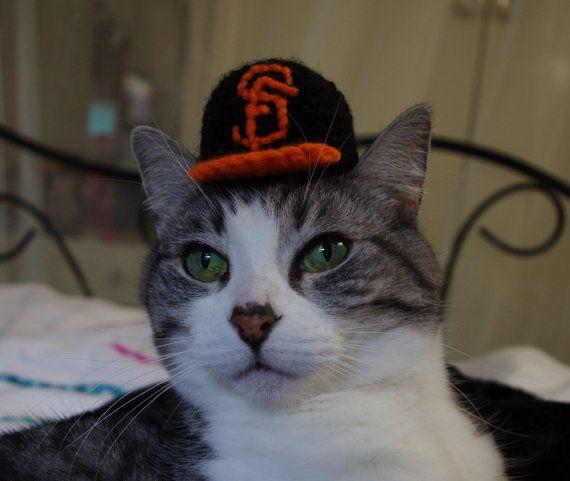 San Francisco Giants Baseball Cap for Cats