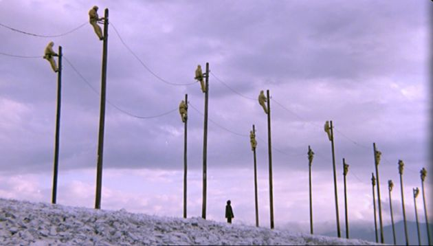 The Suspended Step of the Stork (1991, Theo Angelopoulos) / Cinematography by Giorgos Arvanitis, Andreas Sinanos