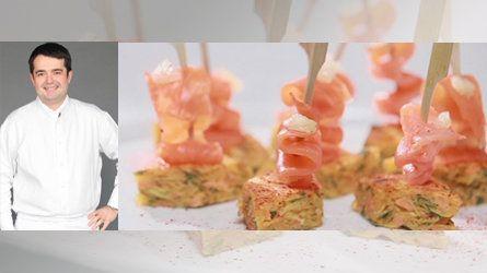 Tortilla à base de chips, Recette de PIEGE Jean- François