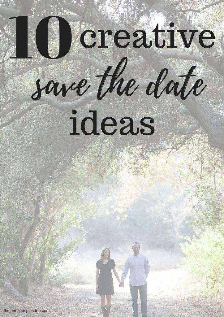 10 Creative Save the Date Ideas | Save the Dates | Unique Save the Dates | Nontraditional Save The Dates | Save the Date Etiquette | Save the Date Advice