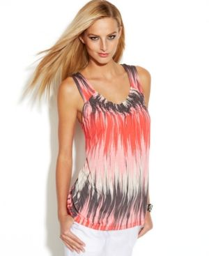 cute tank...love this colors