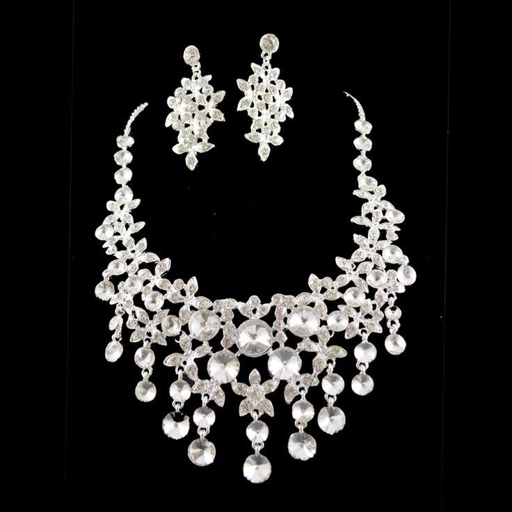 prom jewelry wedding bridal cz diamantes