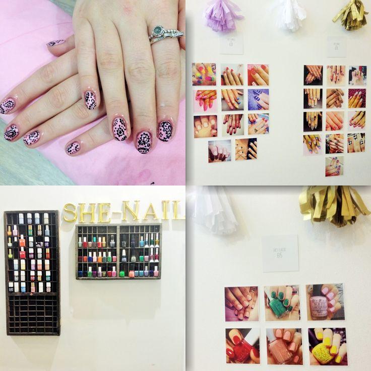 SHE-NAIL - Brighton. Gorgeous paisley print nail art!
