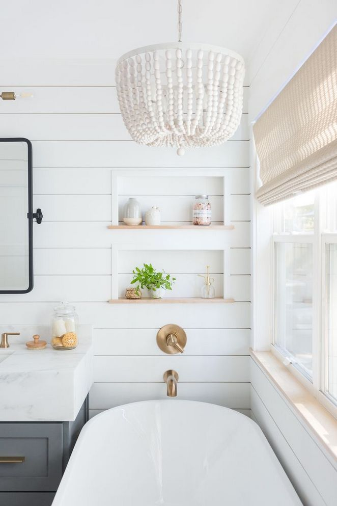40 Bathroom Remodel Shiplap For Dummies Shiplap Bathroom Bathrooms Remodel Minimalist Bathroom