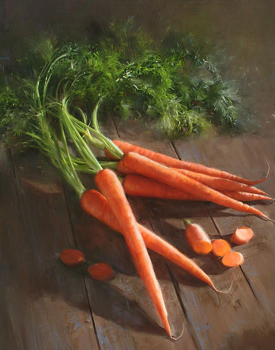 Carrots by Robert Papp - Carrots Painting - Carrots Fine Art Prints and Posters for Sale