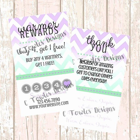 Scentsy Loyalty Cards New Scentsy Customer Loyalty Cards By Mycrazydesigns On Ets Customer Loyalty Cards Loyalty Card Template Paper Flower Printable Templates