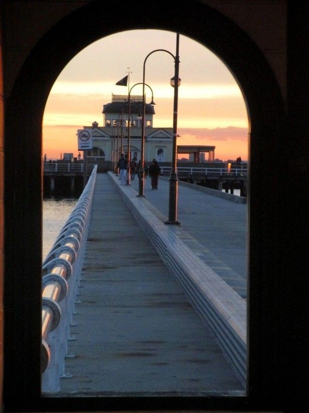 St Kilda Pier, Melbourne, Australia. To find heaps of cool things to do in Melbourne, go to www.whenify.com/browse/calendar.