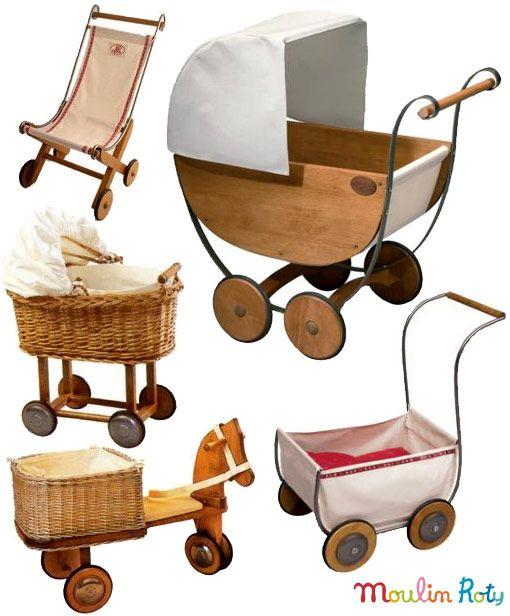 carrinhos de boneca vintage