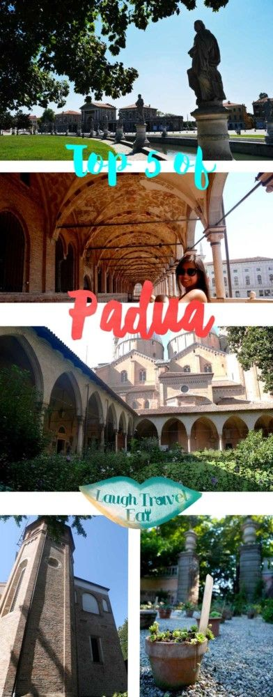 Padua, Padova. A university city that's situated between the more famous Venice and Verona. However, Padua is full of charm and histories