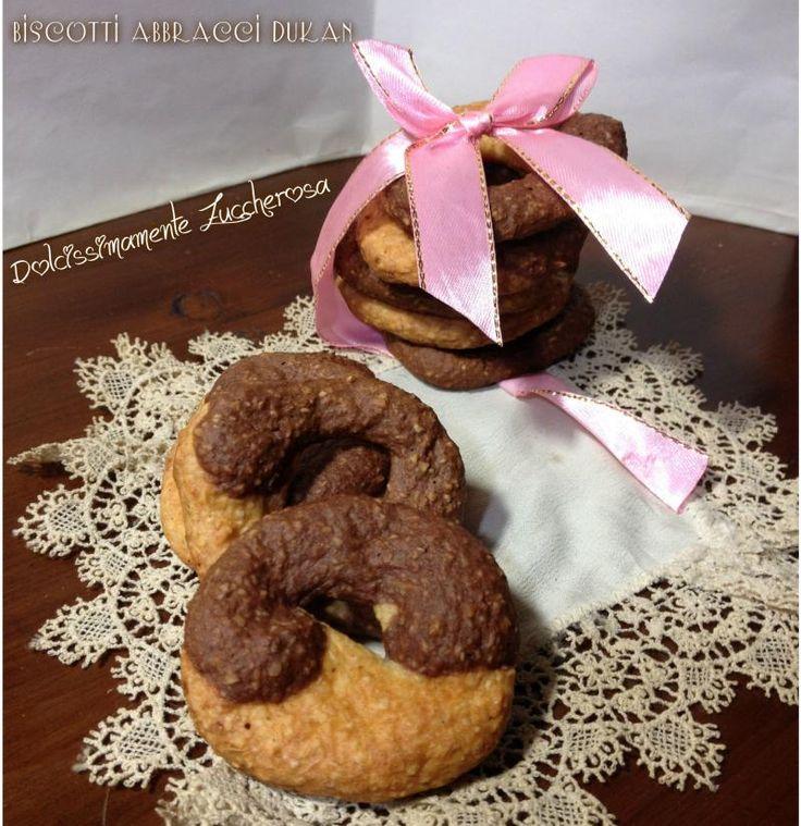 Biscotti abbracci all'arancia Dukan dieta ricetta light
