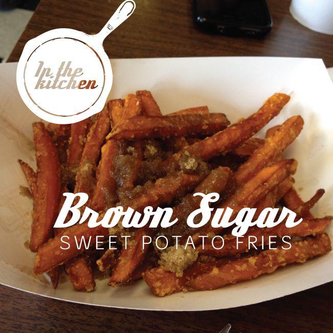 Brown Sugar Sweet Potato Fries