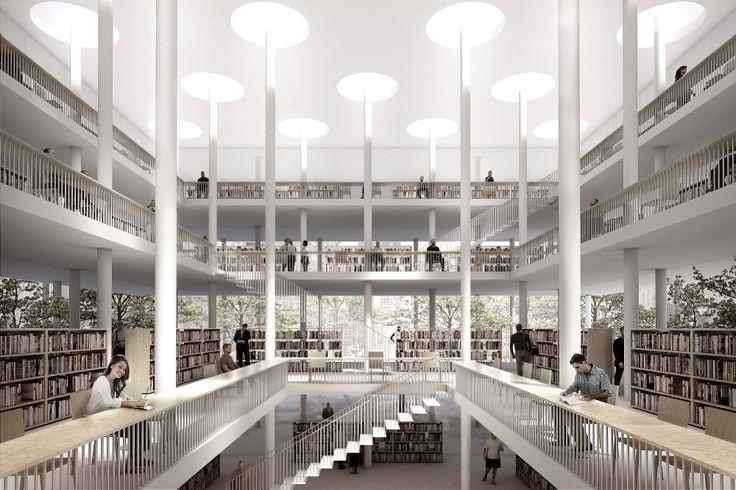 public library in Daegu, South Korea