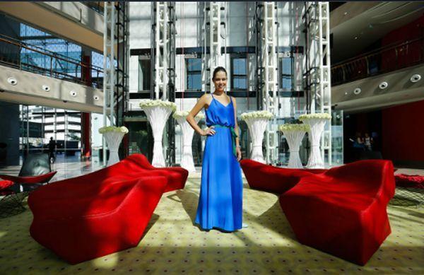 Ana Ivanovic la Dubai