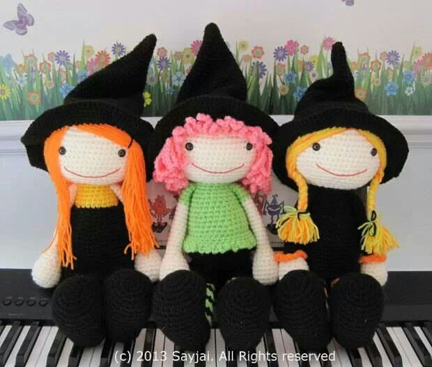 121 best amigurumis halloween images on Pinterest | Patrones de ...