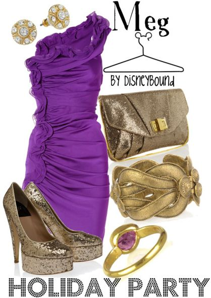 Meg: Holiday Parties, Disney Outfits, Dress, Disney Inspired, Hercules, Disneybound Style, Inspired Outfits, Disney Bound, Disney Fashion