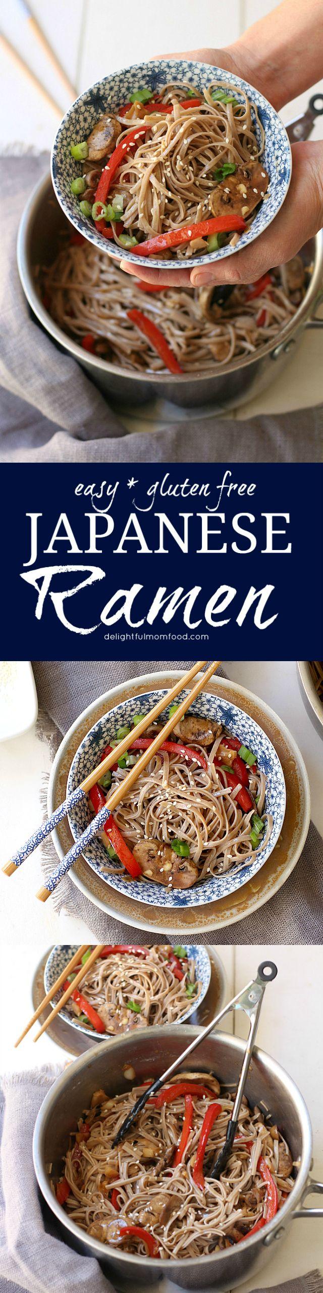 Healthy Gluten Free Japanese Ramen Noodles Recipe