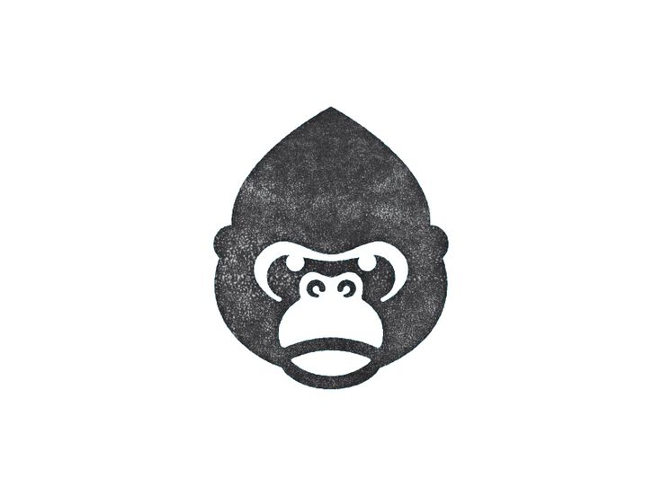 Gorilla Flash Tattoo Cartoon